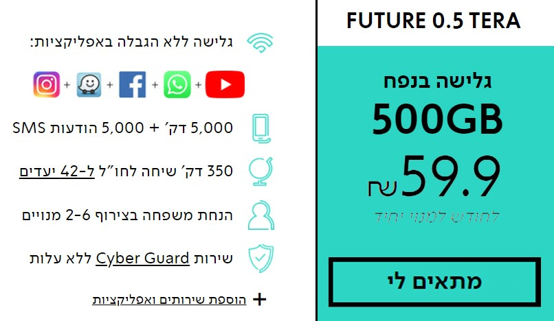 FUTURE 0.5 TERA